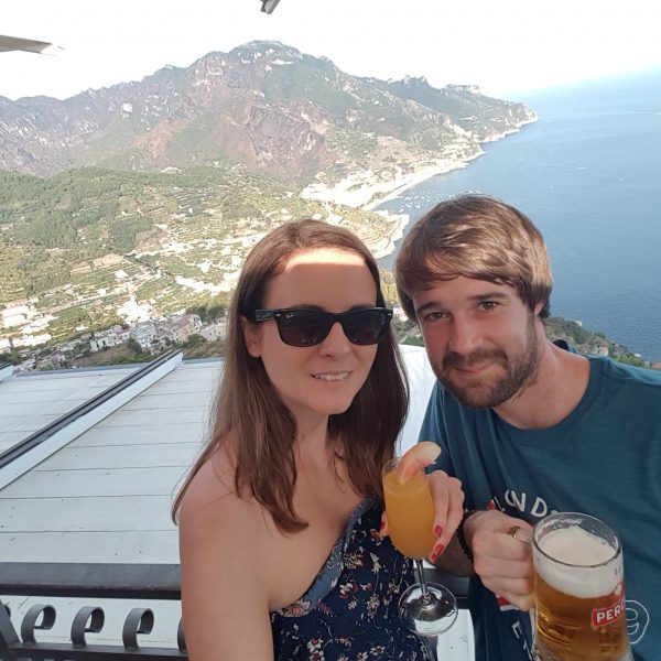Bar in Ravello with amazing views