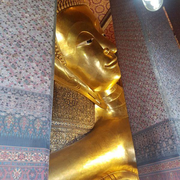 Reclining Buddah's head