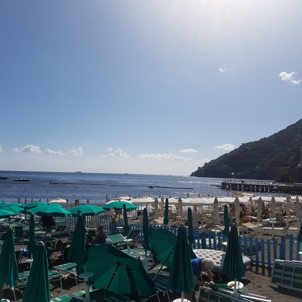 Beach in Minori