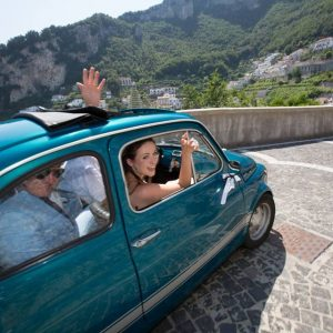 Car from Pogerola to Amalfi