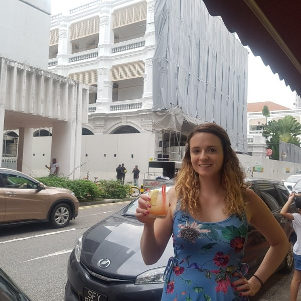 Not a Singapore Sling and not at Raffles!