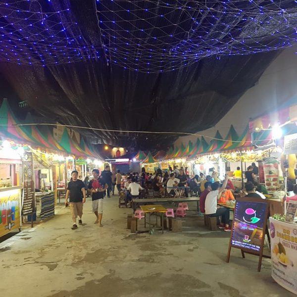 Food market off Jonker Street