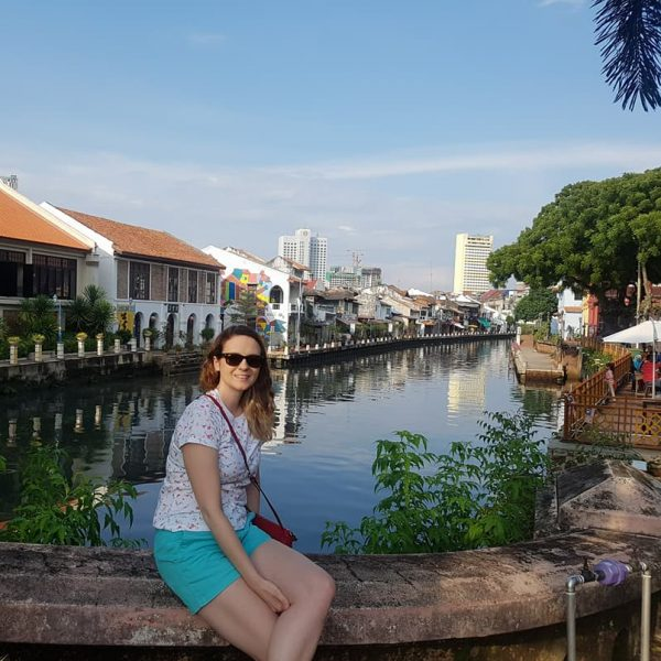 Melaka River by the clock tower