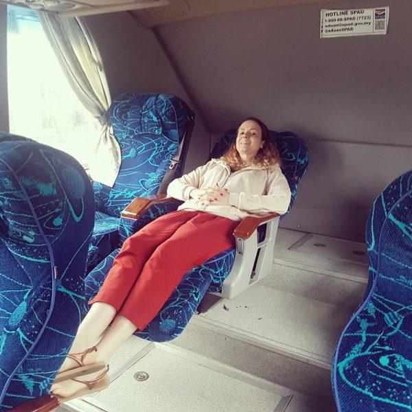 The bus to Singapore!