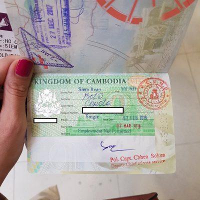 My Cambodian Visa