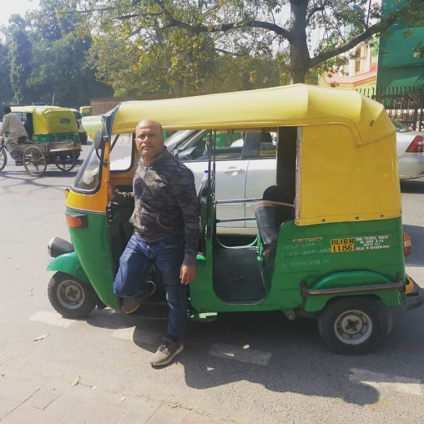 Billu and his tuk-tuk