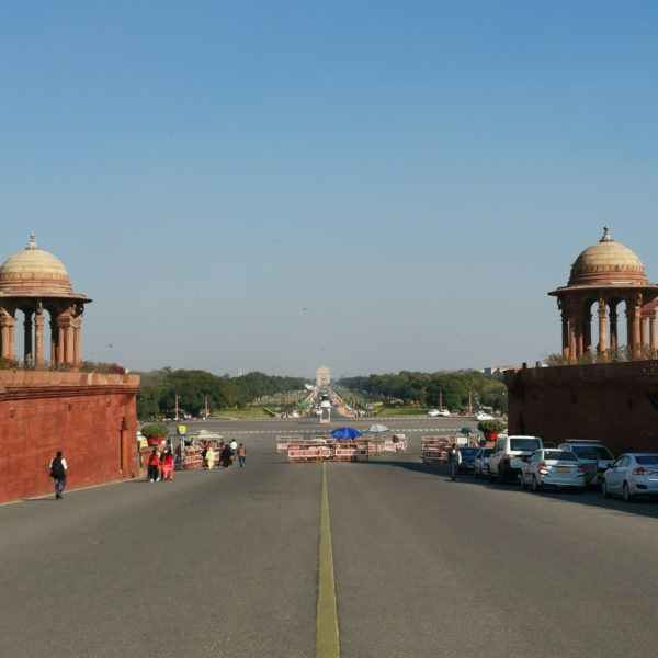 India Gate from the Parliament
